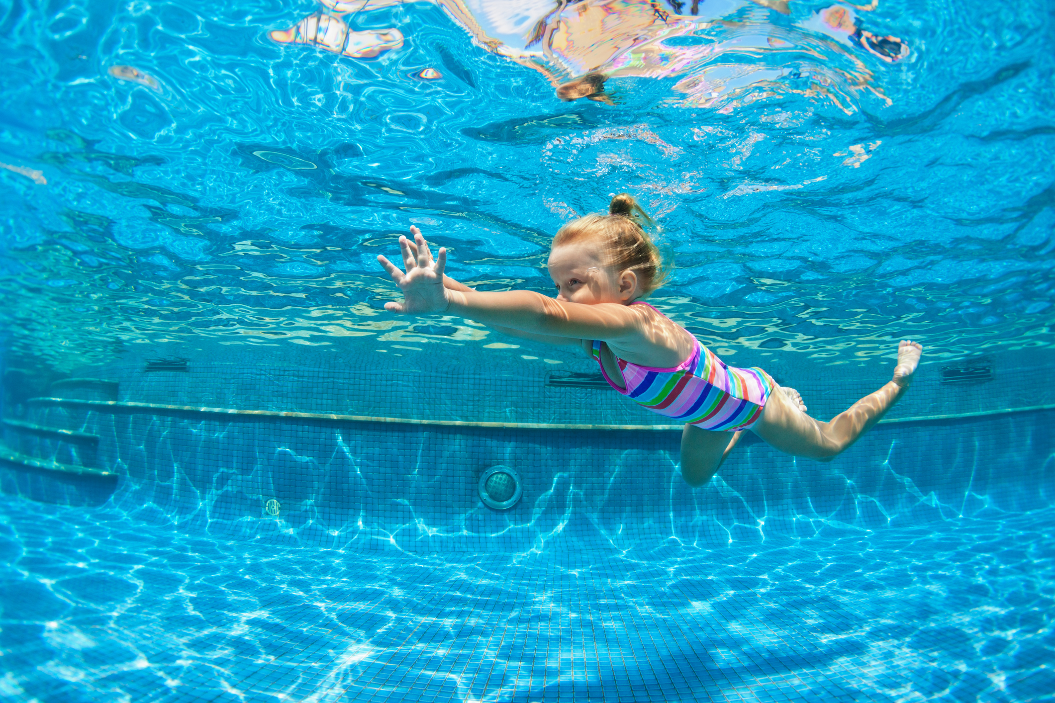 Good Health News on Swimming at Home, But Keep Testing Your Water's Safety